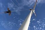 Rettungsübung aus Windenergieanlage erfolgreich