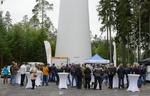 Genossenschaft Eichenzell und ABO Wind weihen Windpark Hofbieber ein