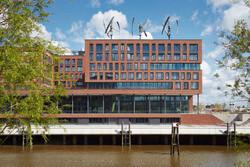 Der Hauptsitz von Greenpeace Energy in Hamburg