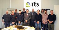 Die erste QI-Schulung von RTS haben alle Teilnehmer erfolgreich abgeschlossen.