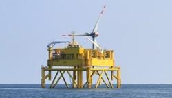 BARD 1 (Bild: Axel Bahr, Ocean Breeze Energy GmbH & Co. KG, 2012)