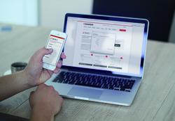 Auf PC, Tablett und Smartphone ermittelt DELTA T die benötigten Klimatisierungskomponenten für Schaltschränke und Gehäuse. (Bild: ELMEKO)