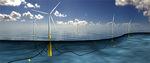 Masdar beteiligt sich am weltweit ersten Floating-Offshore-Windpark