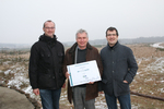 Energiequelle spendet 3.000 € an die Heinz Sielmann Stiftung für ein Forschungsprojekt über Wisente und Przewalski-Pferde