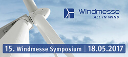 15. Windmesse Symposium 2017: Call for Papers abgeschlossen