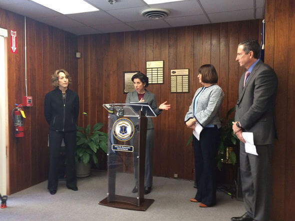 Governor Gina Raimondo (Image: Rhode Island Government)