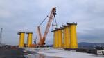 Schmidbauer wickelt Schwerlastlogistik des weltweit größten Offshore Windparks ab