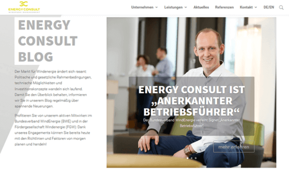 Bild: Energy Consult / markenchauffeur