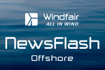 Floating offshore windfarm approved