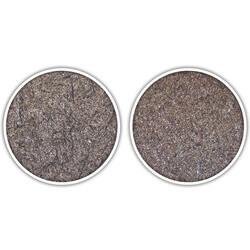 Bei Mancrodur carbonitriert (rechts) entstehen feine und kugelförmige Carbide, die gleichmäßig im Material verteilt und wenig auf die Korngrenzen konzentriert sind.