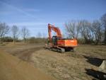 Baubeginn im WP Heckelberg-Brunow
