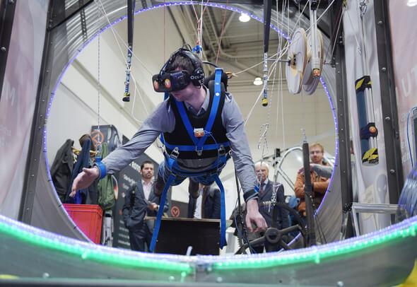 Young Tech Enterprises - Bühne für die Tech-Gründungsszene auf der HANNOVER MESSE (Bild: Deutsche Messe AG)