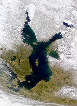 The Baltic Sea (Image: NASA)