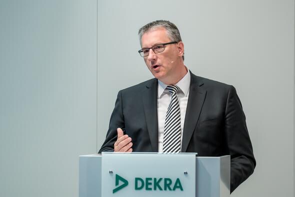 Stefan Kölbl, Vorsitzender des Vorstands DEKRA e.V. und DEKRA SE