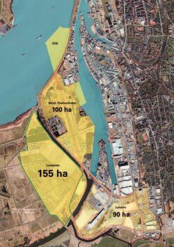 Im Industriegebiet Luneplate soll es entstehen – ein nachhaltig ausgerichtetes Gewerbegebiet auf einer Teilfläche der Luneplate in Bremerhaven.