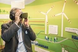 Das 360°-Video kann mit Virtual-Reality-Brillen abgespielt werden
