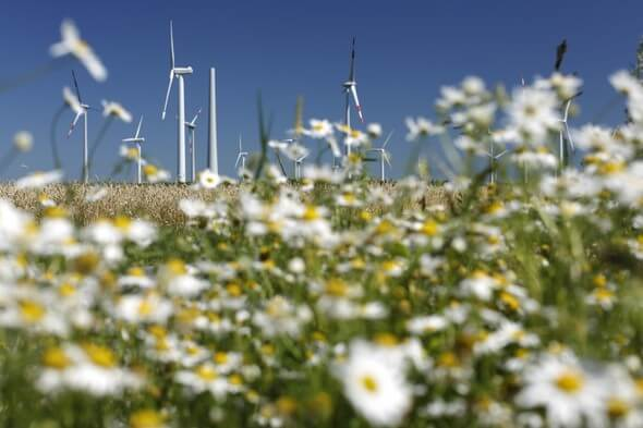 Repoweringprojekt Holßel im Landkreis Cuxhaven © BWE/Jens Meier