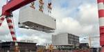 Kiellegung des Offshore-Umspannwerks Arkona in französischer Werft