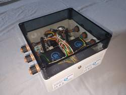 BBG-Box – klein und handlich, geeignet für jeden Windenergieanlagentyp, Abmessung ca. 30 x 30 x 12,7 cm (Alle Bilder: psm)