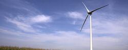 Wind turbine in Ripley Wind Farm (Ontario, Canada)