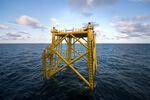 Fundament für Umspannstation im Windpark Borkum Riffgrund 2 erfolgreich installiert