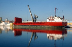 Hafen in Leer (Foto: Seaports of Niedersachsen)