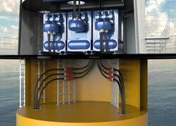 Die feststoffisolierten steckbaren Connex- Muffen machen die Installation im Turm einfacher, schneller und flexibler (Bild: Pfisterer)