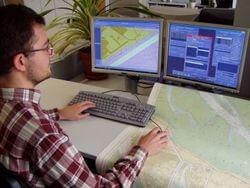 Digitale Kartographie (Bild: © 2017 Bundesamt für Seeschifffahrt und Hydrographie)