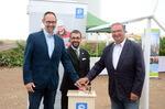 Staatssekretär Möller weiht VSB-Windpark Wipperdorf ein