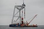 Feierstunde für Baustart des Offshore-Windprojekts Arkona