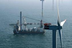 Turbineninstallation Offshore-Windpark Nordsee One (Bild: Nordsee One GmbH)