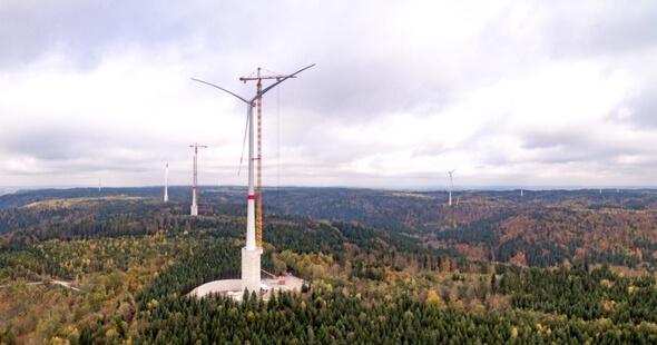 Höchste Windkraftanlage Der Welt