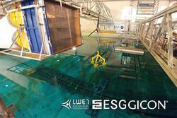 Vom 16. bis 27. Oktober fanden im französischem Nantes die Tanktest mit der dritten Generation des GICON®-SOF statt. (Quelle: Daniel Walia, Stiftungslehrstuhl für Windenergietechnik der Universität Rostock)