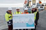 Erster Schiffsliegeplatz im Cuxhavener Offshorehafen künftig aus dem öffentlichen Stromnetz versorgt