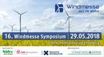 16. Windmesse Symposium 2018: Herzlich Willkommen Deutsche Windtechnik!