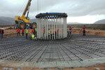 Foundations laid at Sarco and Aurora wind farms in Chile