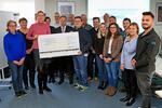 Atlas-Copco-Mitarbeiter unterstützen die Welthungerhilfe