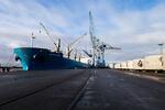 """EPAS empfängt Mehrzweckschiff """"Orange River"""" am Nordkai in Emden"""