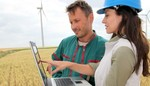 Erste Windkraftanlagen vom EnBW Windpark Freckenfeld gehen in Betrieb