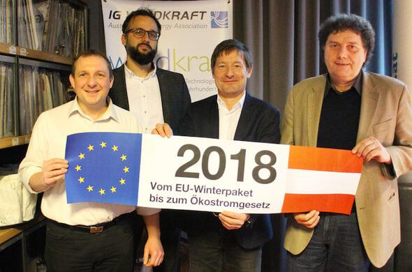 Hendricks, Maringer, Moidl, Steininger (Bild: © IG Windkraft)
