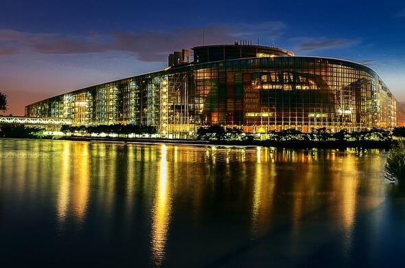 Das Europa-Parlament in Straßburg (Bild: Pixabay)