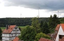 Rauschenberg mit Windkraftanlagen (Quelle: Stadt Rauschenberg)