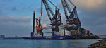Aeolus fitted with impressive new crane