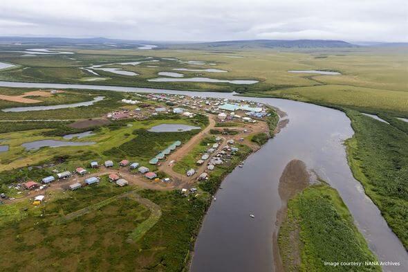 Buckland, Alaska (Image: NANA Archives)