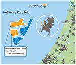 Vattenfall wins tender Hollandse Kust Zuid