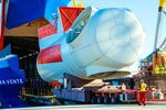 Ro/Ro-loading of Rentel wind turbine nacelles: Siemens Gamesa sets sails with cutting edge offshore logistics concept