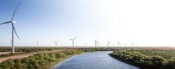 San Roman was the first ACCIONA Wind Farm in Texas (Image: Acciona)