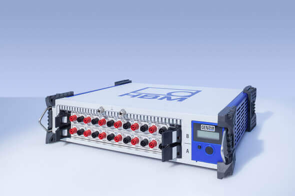 The GEN2tB data acquisition system is perfect for portable use, with low channel counts or applications that require a distributed setup, and comes with free Perception software (Image: HBM)