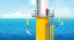 Pioneering study finds seabirds avoid offshore wind turbines much more than previously predicted