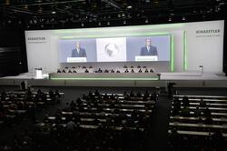 Hauptversammlung der Schaeffler AG 2018 in der Nürnberger Frankenhalle. (Bild: Schaeffler)
